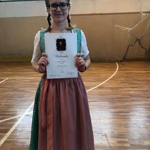 Zafférys siker a megyei német nemzetiségi versenyen
