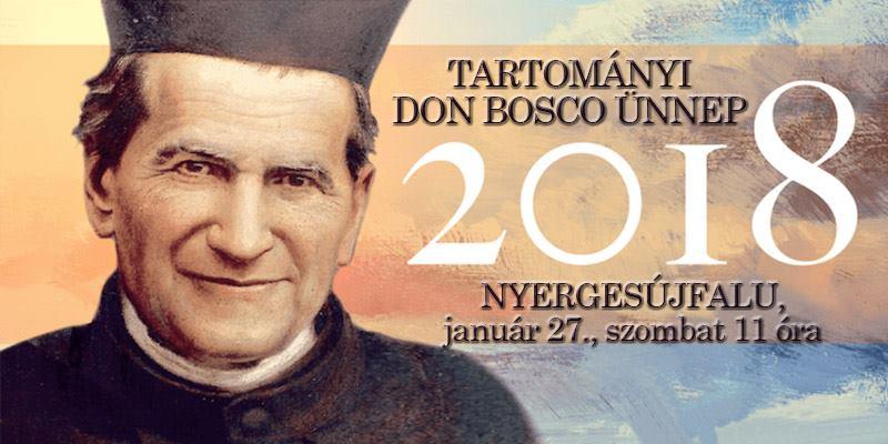 2018. január 27. Tartományi Don Bosco-ünnep