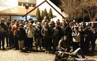 Éjszakai zarándoklat Szalézi Szent Ferenc tiszteletére