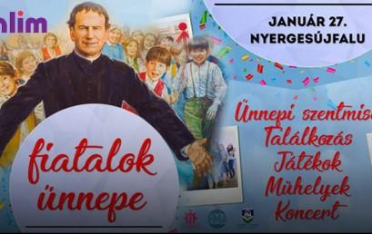 SZALIM – Meghívó a Fiatalok Ünnepére 2018-ban