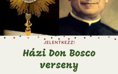 Házi Don Bosco Verseny
