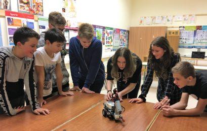 LEGO robot az oratóriumban
