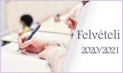 Központi írásbeli felvételi vizsga eredmények 2021. 01. 23.